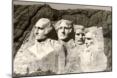 Mt. Rushmore, South Dakota--Mounted Art Print