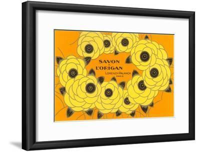 Decorative Arts, Savon a L'Origan--Framed Art Print