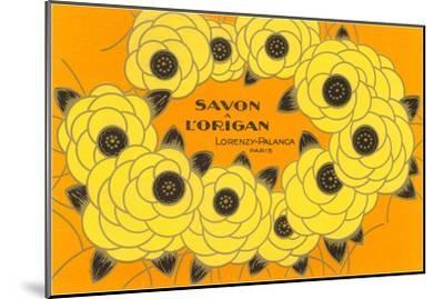 Decorative Arts, Savon a L'Origan--Mounted Art Print