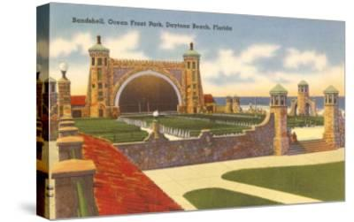 Band Shell, Daytona Beach, Florida--Stretched Canvas Print