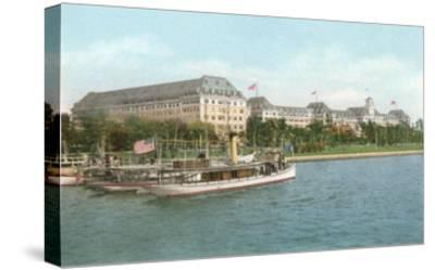 Royal Poinciana Hotel, Palm Beach, Florida--Stretched Canvas Print