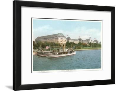 Royal Poinciana Hotel, Palm Beach, Florida--Framed Art Print