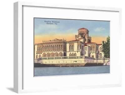 Ringling Mansion, Sarasota, Florida--Framed Art Print