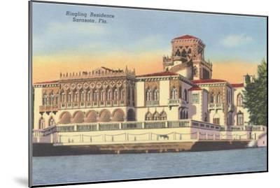 Ringling Mansion, Sarasota, Florida--Mounted Art Print