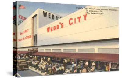 Webb's City Drug Store, St. Petersburg, Florida--Stretched Canvas Print
