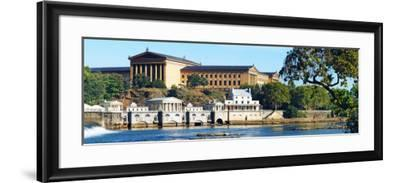 Art Museum at the Waterfront, Philadelphia Museum of Art, Schuylkill River, Philadelphia--Framed Photographic Print