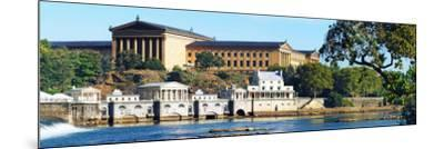 Art Museum at the Waterfront, Philadelphia Museum of Art, Schuylkill River, Philadelphia--Mounted Photographic Print