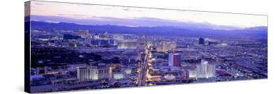 Dusk the Strip Las Vegas Nv, USA--Stretched Canvas Print