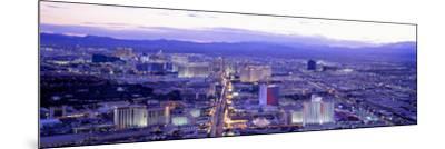 Dusk the Strip Las Vegas Nv, USA--Mounted Photographic Print