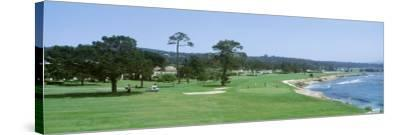 Pebble Beach Golf Course Ca, USA--Stretched Canvas Print