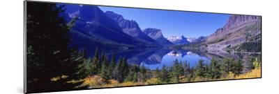 St Mary Lake Glacier National Park, MT--Mounted Photographic Print