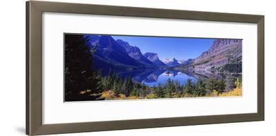 St Mary Lake Glacier National Park, MT--Framed Photographic Print