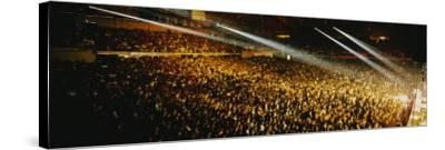Rock Concert Interior Chicago Il, USA--Stretched Canvas Print