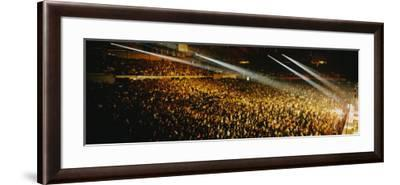 Rock Concert Interior Chicago Il, USA--Framed Photographic Print