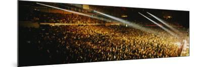 Rock Concert Interior Chicago Il, USA--Mounted Photographic Print