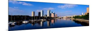 Tampa, FL--Mounted Photographic Print