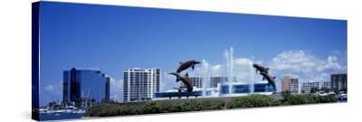 Island Park Sarasota Florida, USA--Stretched Canvas Print