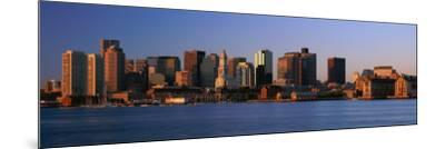 Dawn Boston, MA--Mounted Photographic Print