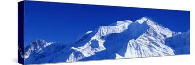 Mont Blanc, Savoie, France--Stretched Canvas Print