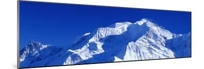 Mont Blanc, Savoie, France--Mounted Photographic Print