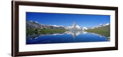Matterhorn Zermatt Switzerland--Framed Photographic Print