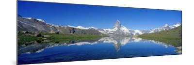 Matterhorn Zermatt Switzerland--Mounted Photographic Print
