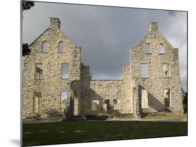 Facade of an Old Building, Ha-Ha-Tonka Castle, Ha-Ha-Tonka State Park, Camdenton, Missouri, USA--Mounted Photographic Print