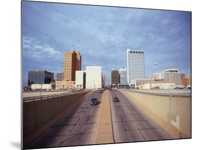 Cars on a Highway, Midland, Midland County, Texas, USA--Mounted Photographic Print