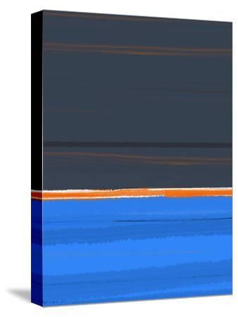 Stripe Orange-NaxArt-Stretched Canvas Print