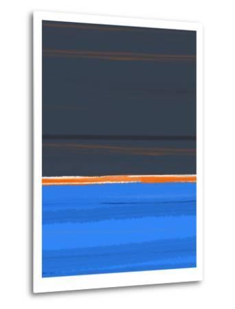 Stripe Orange-NaxArt-Metal Print