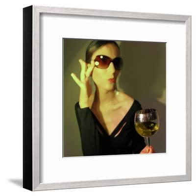 Loren-NaxArt-Framed Art Print