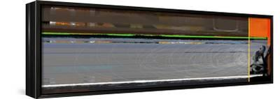 Ghandi-NaxArt-Framed Stretched Canvas Print