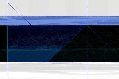Deep Blue-NaxArt-Stretched Canvas Print