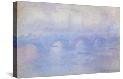 Waterloo Bridge: Effect of Mist, 1903-Claude Monet-Stretched Canvas Print
