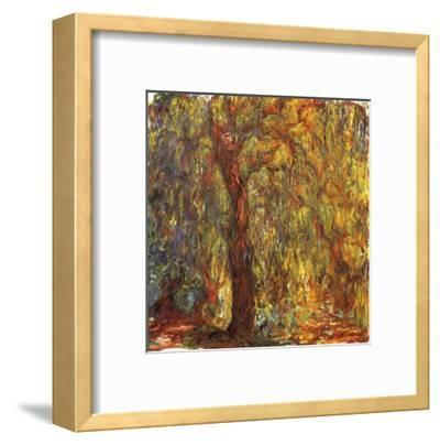 Weeping Willow, 1919-Claude Monet-Framed Giclee Print