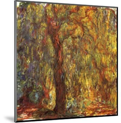 Weeping Willow, 1919-Claude Monet-Mounted Giclee Print