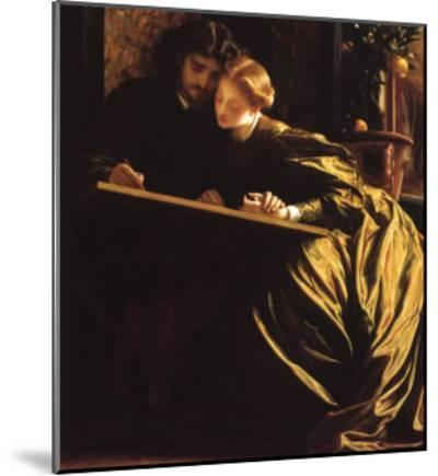 Painter and His Bride, 1864-Frederick Leighton-Mounted Giclee Print