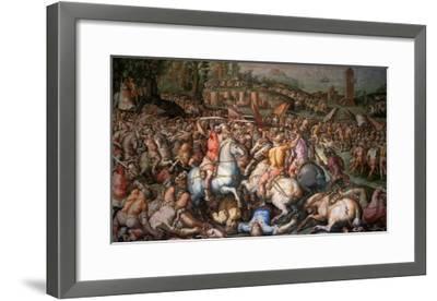Assault on Pisa, 1565-Giorgio Vasari-Framed Giclee Print
