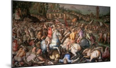 Assault on Pisa, 1565-Giorgio Vasari-Mounted Giclee Print