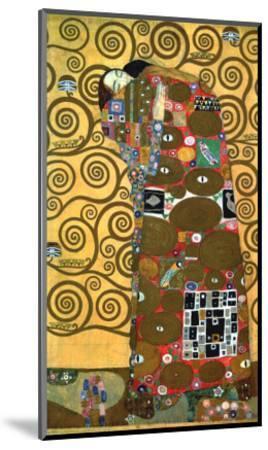 Fulfillment, One of the Kiss Panels, 1909-Gustav Klimt-Mounted Giclee Print