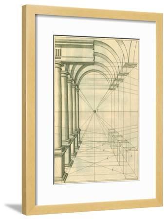 View of Roman Gallery, 1751-Henricus Hondius-Framed Giclee Print