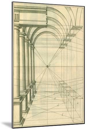 View of Roman Gallery, 1751-Henricus Hondius-Mounted Giclee Print