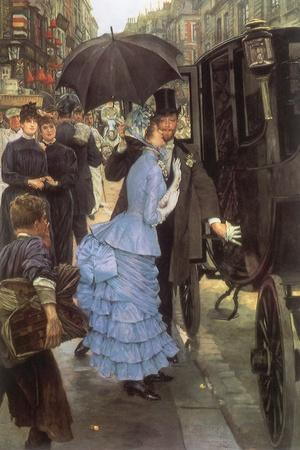 The Bridesmaid, 1884-James Tissot-Stretched Canvas Print