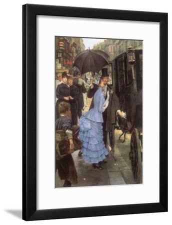 The Bridesmaid, 1884-James Tissot-Framed Giclee Print