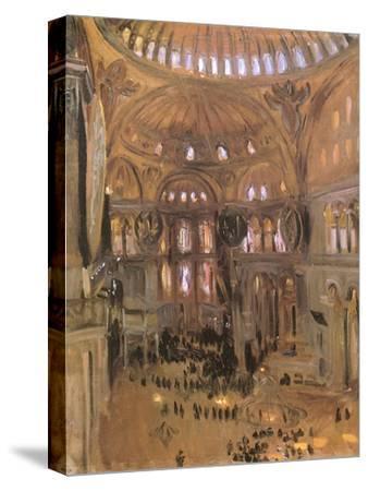 Sketch of Santa Sophia, 1891-John Singer Sargent-Stretched Canvas Print