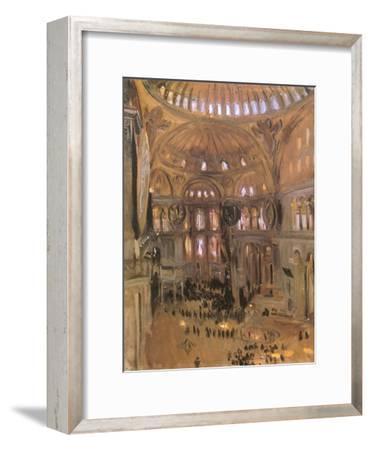 Sketch of Santa Sophia, 1891-John Singer Sargent-Framed Premium Giclee Print
