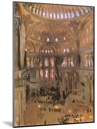 Sketch of Santa Sophia, 1891-John Singer Sargent-Mounted Premium Giclee Print