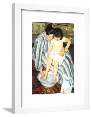 The Bath, 1891-Mary Cassatt-Framed Giclee Print
