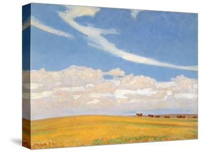Prairie after Storm, 1921-Maynard Dixon-Stretched Canvas Print