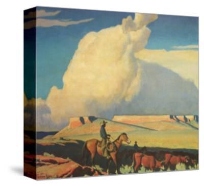 Open Range, 1942-Maynard Dixon-Stretched Canvas Print